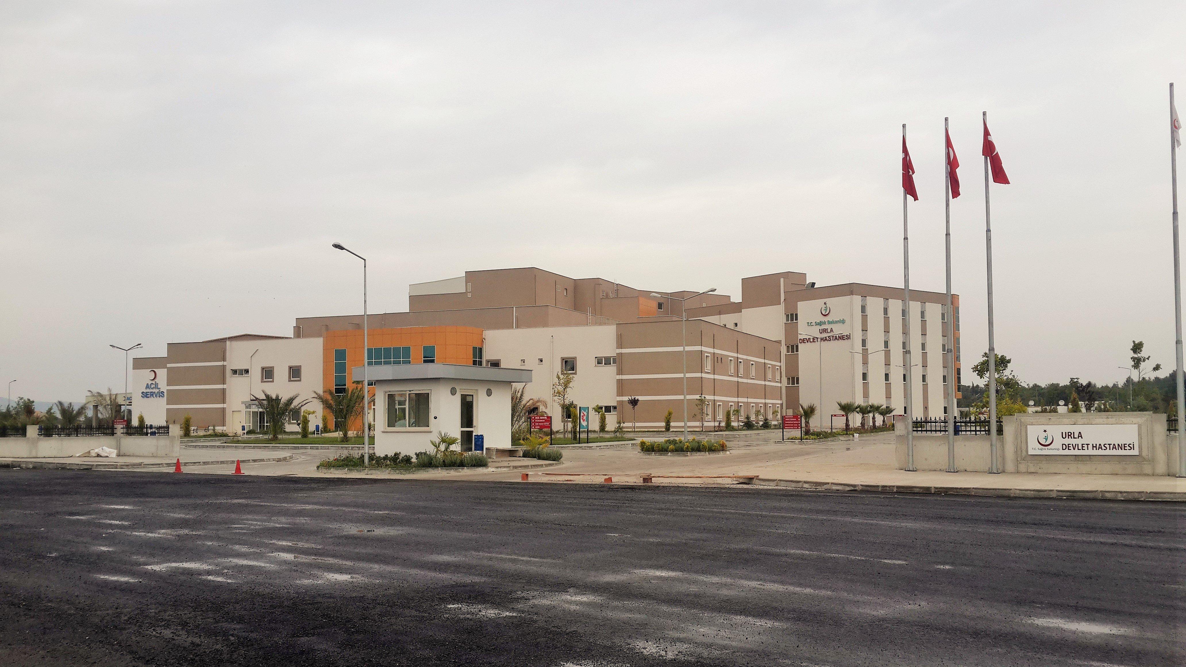 İzmir İli Urla İlçesi 150 Yataklı Devlet Hastanesi İle Altyapı Ve  Çevre Düzenlenmesi İnşaatı İşi