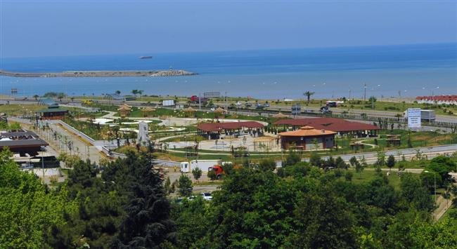 Trabzon 2011 Eyof Spor Hatıra Parkı Yapım İşi